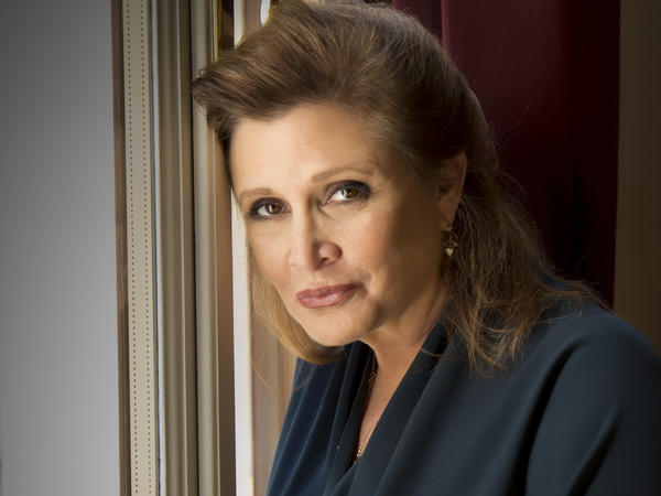 Carrie Fisher reprised her role of Princess Leia in the 2015 film <em>Star Wars: The Force Awakens.</em>
