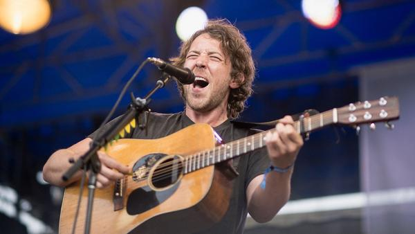 Fleet Foxes perform at the 2017 Newport Folk Festival.