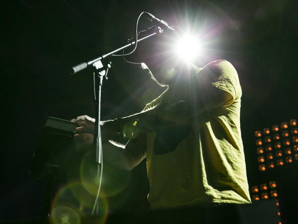 Justin Vernon of Bon Iver performs at NPR Music's 10th Anniversary Concert in Washington, D.C.