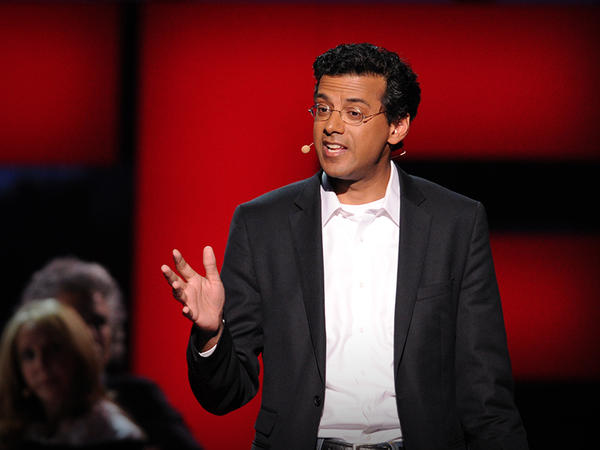 Atul Gawande on the TED stage