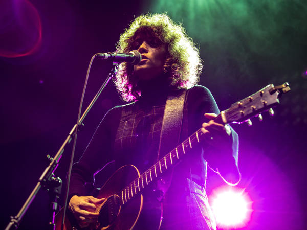 Gaby Moreno performs at NPR Music's 10th Anniversary Concert in Washington, D.C.