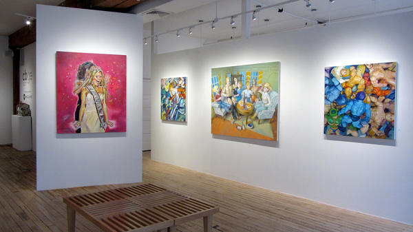 The Carter Burden Gallery in Chelsea only shows works by artists who are at least 60 years old.