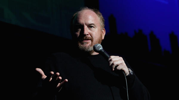 Comedian Louis C.K. performs in New York on Nov. 5, 2014. C.K. has admitted to masturbating in front of women without their consent.