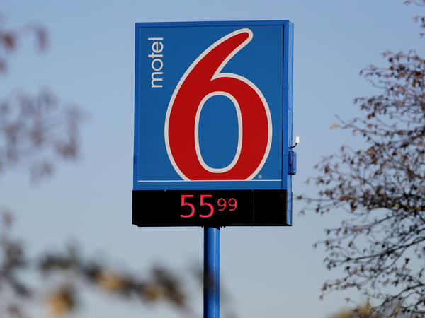 A Motel 6 motel in SeaTac, Wash. The company faces a new lawsuit accusing it of illegally disclosing the personal information of guests to immigration agents.