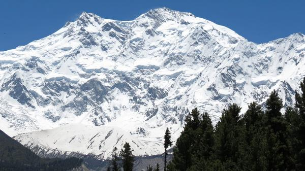 Nanga Parbat, Pakistan's second-highest mountain, is shown in 2014. It's one of the world's deadliest mountains for climbers.