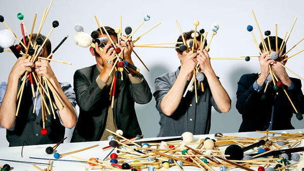 Third Coast Percussion's new album, out Feb. 9, is called <em>Paddle to the Sea</em>.