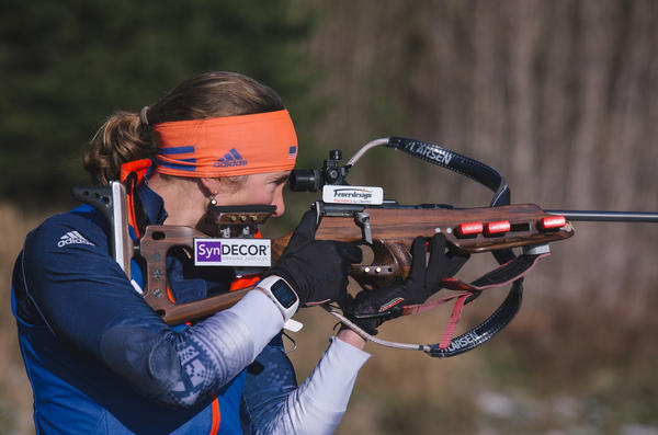 Skiing was second nature for Dunklee, but shooting a rifle at first felt alien to her. In the wake of mass shooting tragedies in the U.S., she has wrestled with ambivalence over using rifles for sport.