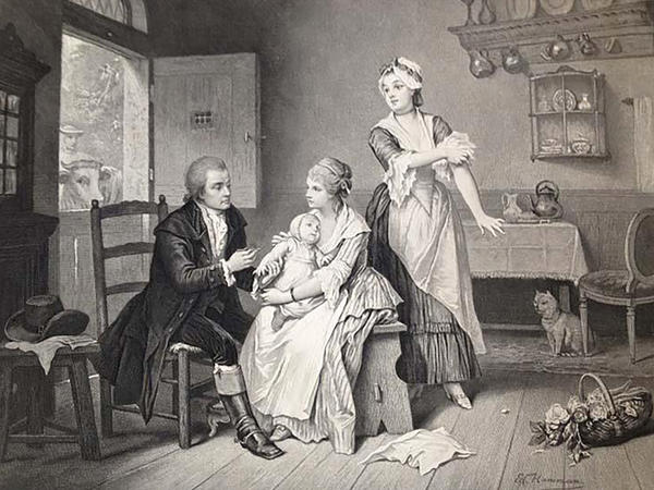 As history tells it, young Edward Jenner heard a milkmaid brag that having cowpox made her immune to smallpox. And years later, as a doctor, he drew matter from a cowpox pustule on the arm of a milkmaid to vaccinate a young test subject (depicted in the drawing above). A researcher now weighs in on the veracity of the milkmaid stories.
