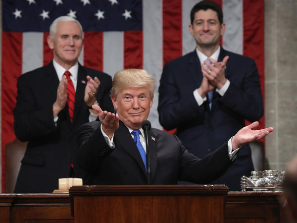 President Trump delivers his State of the Union address on Tuesday night, attracting the ninth-most number of viewers of such a speech since 1993.