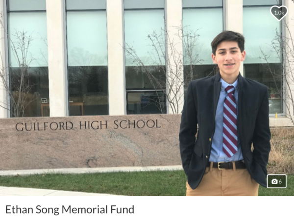 A GoFundMe page has been set up in honor of Ethan Song, who was shot and killed Wednesday.