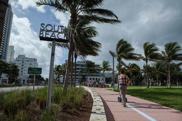 In South Florida, most of us see sea-level rise as a long-term threat. But how long-term? Are we still going to be alive when things get bad?