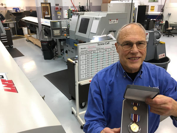 Lew Zirkle, founder of SIGN Fracture Care in Richland, Washington, will receive the U.S. Department of Defense Medal for Distinguished Public Service by Secretary James Mattis later this month.