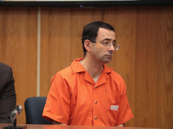 Larry Nassar was handed a 40-125-year prison term in Eaton County Circuit Court on Monday.