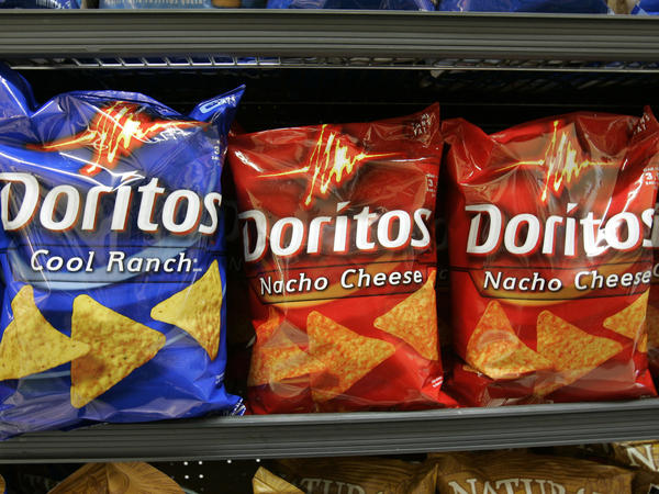 PepsiCo's CEO, Indra Nooyi, says her company is designing less crunchy Doritos for women.