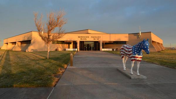 The Pantex Plant, located northeast of Amarillo, Texas.