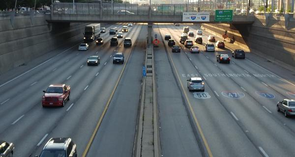 The report says congestion increased by eight percent from 2016 to 2017.