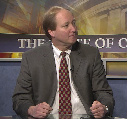 "Budget Director Tim Keen appeared on ""The State of Ohio"" in January."