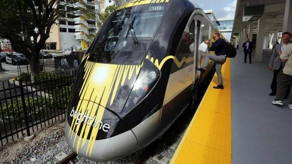 Private rail company Brightline will expand service to Miami-Dade County this year.