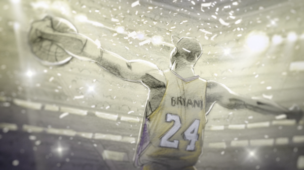 <em>Dear Basketball</em><em> </em>is an animated ode to Kobe Bryant's 20-year NBA career. It's one of five animated shorts up for an Oscar this year.