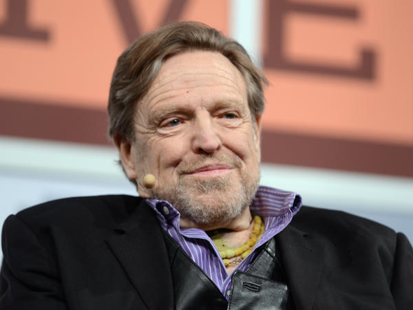 John Perry Barlow, co-founderof the Electronic Frontier Foundation at the 2013 SXSW Festival at Austin, Texas.