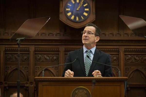 Governor Dannel Malloy (file photo).