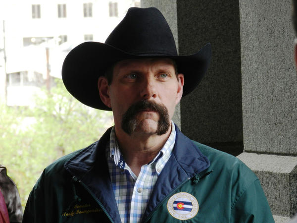 Sen. Randy Baumgardner of Hot Sulphur Springs.