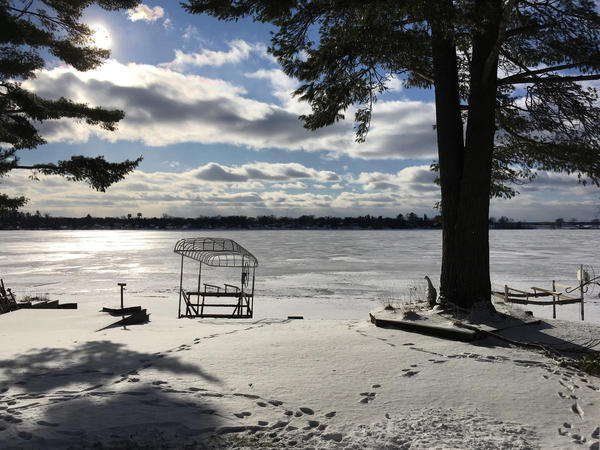 PFAS contamination affected Lake Van Etten in Oscoda, Michigan.
