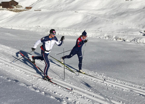 Siblings Erik and Sadie Bjornsen of Mazama, Washington, will go for the gold at the 2018 Winter Olympics beginning Sunday and Tuesday respectively.
