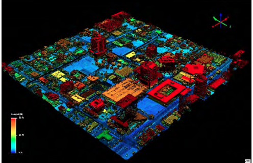 This is a high-density topographical map of the city of Fort Lauderdale using LiDAR technology, (light detection and ranging.) The topography and seawall studies of the city were done for the Stormwater Master Plan.