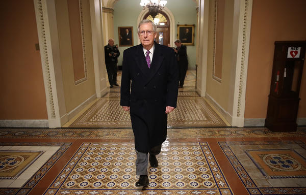 Led by Senate Majority Leader Mitch McConnell, R-Ky., senators are beginning debate on immigration legislation on Monday. It's anyone's guess what the outcome will be.
