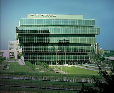 Purdue Pharma's Stamford headquarters