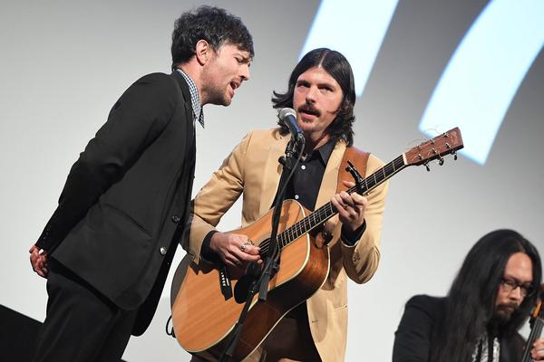 "Scott Avett (left) and Seth Avett of The Avett Brothers perform during the ""May It Last: A Portrait Of The Avett Brothers""premiere 2017 SXSW Conference and Festivals on March 15, 2017 in Austin, Texas.  (Matt Winkelmeyer/Getty Images for SXSW)"