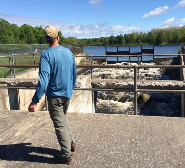Dam removal project aims to help river in the Lake Huron basin.