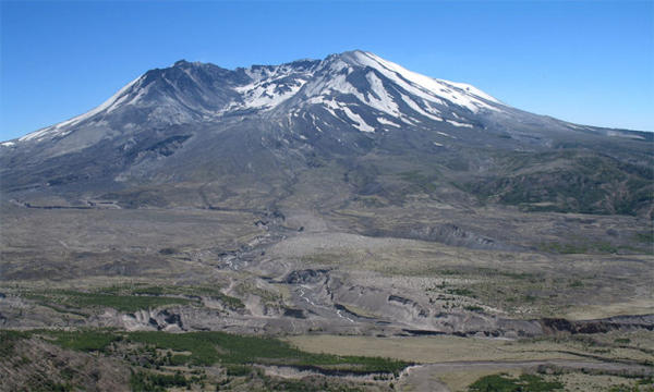<p>File photo of Mount St. Helens</p>