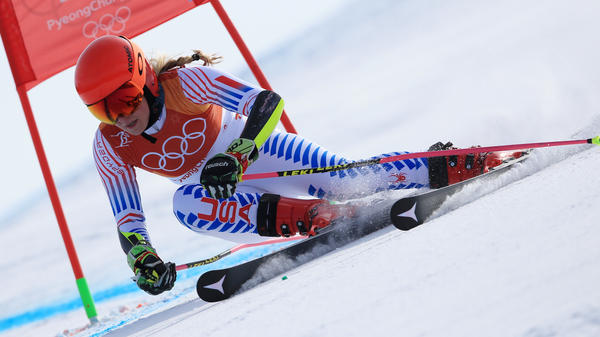 U.S. skier Mikaela Shiffrin won her second career gold medal and her first of the Pyeongchang Winter Olympics in the women's giant slalom at the Yongpyong Alpine Center in South Korea.