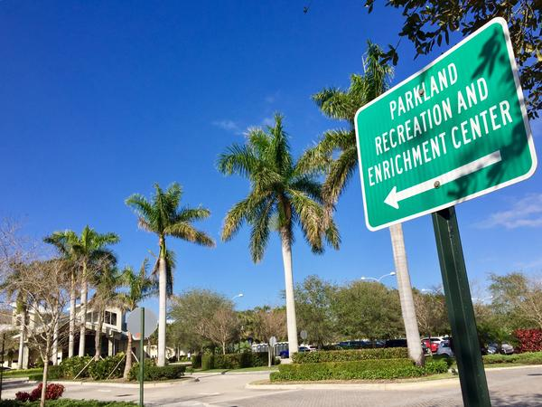 One of the sites where grief counseling was available Thursday morning for people affected by the shooting at Marjory Stoneman Douglas High School.