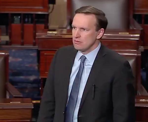 Senator Chris Murphy speaking following the Parkland school shooting