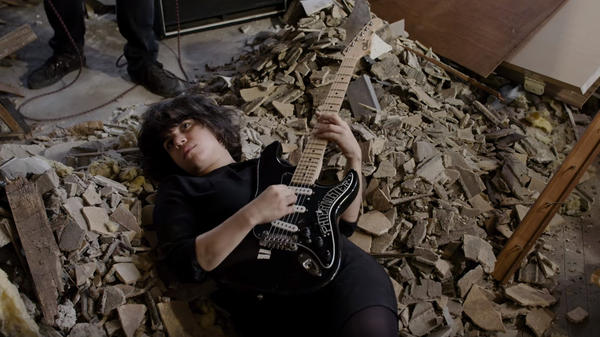 """A still from Screaming Females' """"I'll Make You Sorry"""" video."""