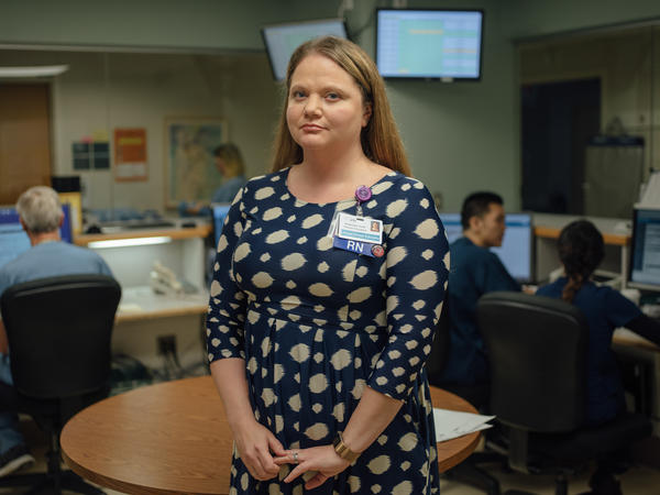 Rosemary Grant is a registered nurse and helps coordinate sepsis care at Harborview Medical Center in Seattle. The center's goal, she says, is to get a patient who might be developing sepsis antibiotics within three hours.