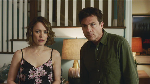 In <em>Game Night, </em>Annie (Rachel McAdams) and Max (Jason Bateman) spend a night as pawns in someone else's game.