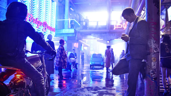 In <em>Mute, </em>Alexander Skarsgård plays Leo, a mute bartender searching for his lost girlfriend. The film is Duncan Jones' return to the kind of moody Sci-Fi that marks his early work.