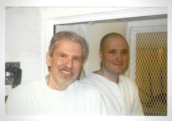 Kent Whitaker with his son Thomas Whitaker.