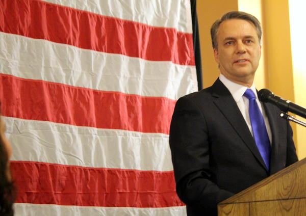 Kansas Gov. Jeff Colyer thinks bonuses to teachers who carry weapons might help prevent school shootings, but that it's ultimately up to local districts.