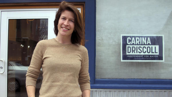 Carina Driscoll, the stepdaughter of Sen. Bernie Sanders, I-Vt., is running for mayor of Burlington, Vt. — a post her stepfather once held.