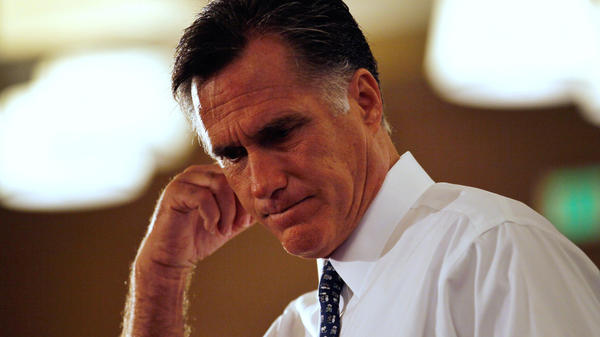 Republican presidential candidate Mitt Romney speaks during a town hall meeting at the Doubletree Miami Airport hotel as he campaigns in South Florida on Wednesday. Romney is participating in a GOP debate in Orlando on Thursday night.