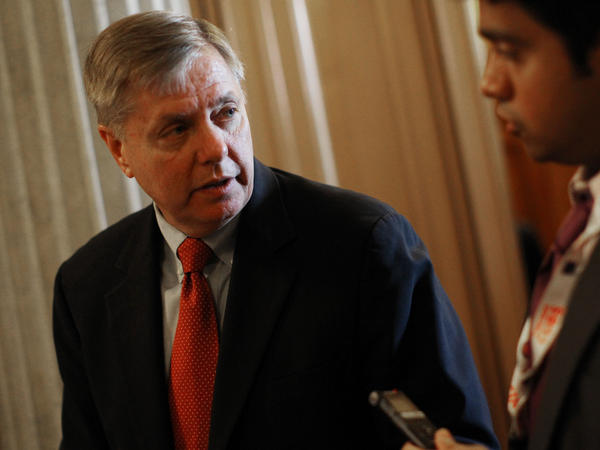 <p>Republican Sen. Lindsey Graham of South Carolina has criticized the Obama administration's stance on the detainee policy in the defense bill. </p>