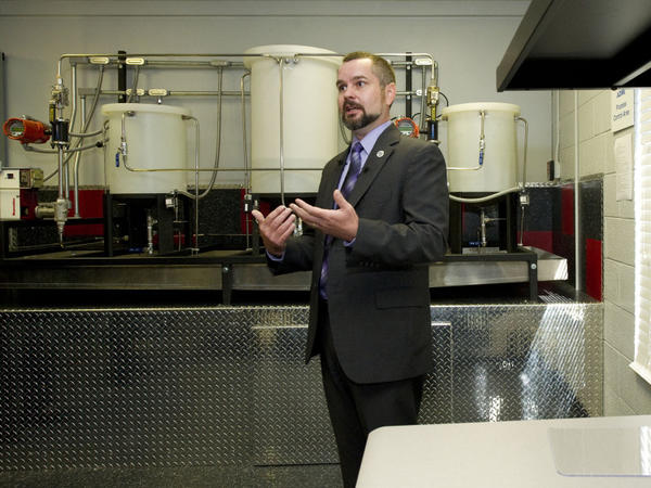 Marty Edwards, director of the DHS Industrial Control Systems Cyber Emergency Response Team (shown here at the Idaho National Laboratory in September) says the U.S. government's cybersecurity lab had no role in the development of Stuxnet.