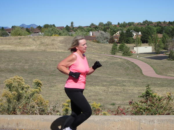Marcia Noyes, 51, was overweight for most of her life. She lost 80 pounds in eight months and qualified for a marathon.
