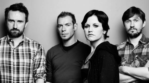 The Cranberries (left to right): Noel Hogan, Fergal Lawler, Dolores O'Riordan, Mike Hogan.