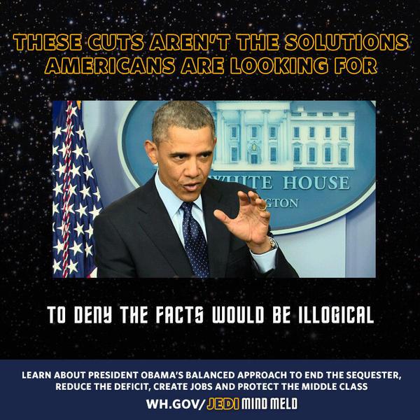 Obama's response to his mixed metaphor.